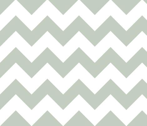 chevron lt gray fabric by christiem on Spoonflower - custom fabric