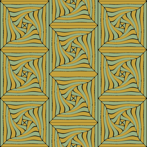 Celadon Wrap fabric by david_kent_collections on Spoonflower - custom fabric