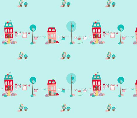 Cute_home fabric by cyntia_abrigo on Spoonflower - custom fabric