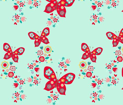 Cute_butterfly fabric by cyntia_abrigo on Spoonflower - custom fabric