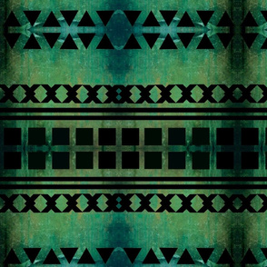 teal tribal