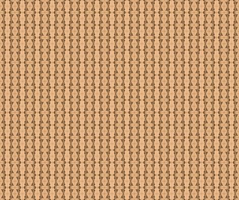 zigzag stripe - sepia fabric by walkwithmagistudio on Spoonflower - custom fabric