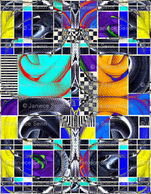 Snake Mosaic
