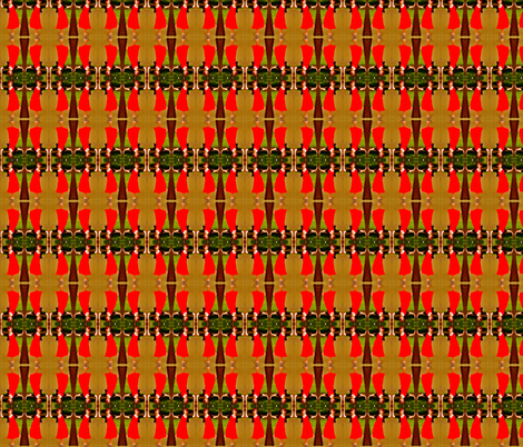 Party Dress Plaid fabric by walkwithmagistudio on Spoonflower - custom fabric