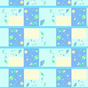 kites strip quilt 2