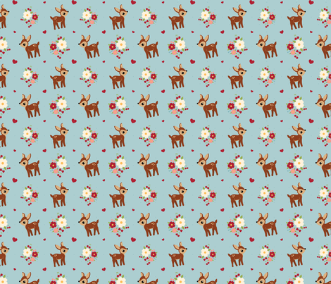 Oh Deer! fabric by bobbifox on Spoonflower - custom fabric