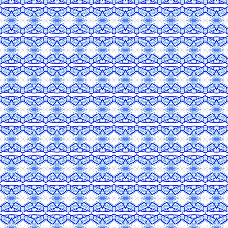 Tiny Blue Bows fabric by robin_rice on Spoonflower - custom fabric