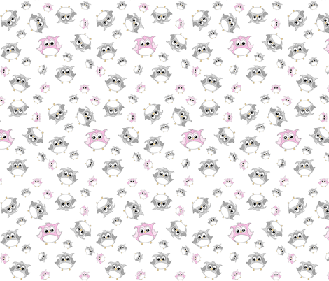 Confetti White fabric by ilikemeat on Spoonflower - custom fabric