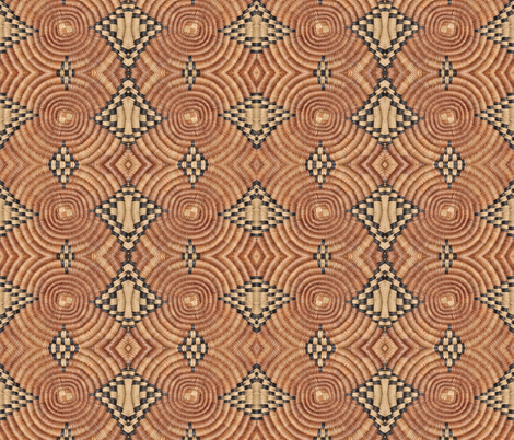 Basketweave 6 fabric by greennote on Spoonflower - custom fabric