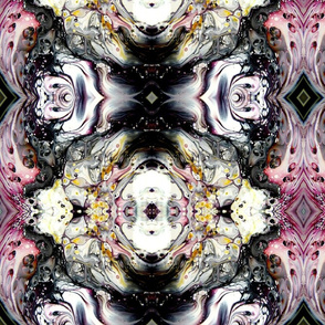 DRE DESIGNS CHROMATIC ABSTRACT 215
