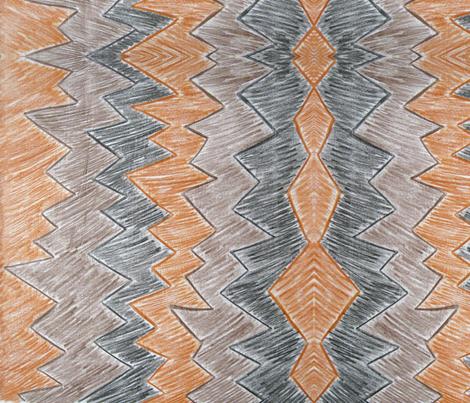 Peaks fabric by absintheandrope on Spoonflower - custom fabric
