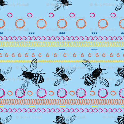 Bee Spots Bright