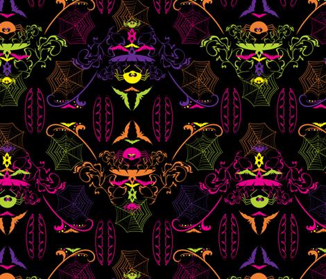 LaraGeorgine_Creepy_Crawlies fabric by larageorgine on Spoonflower - custom fabric