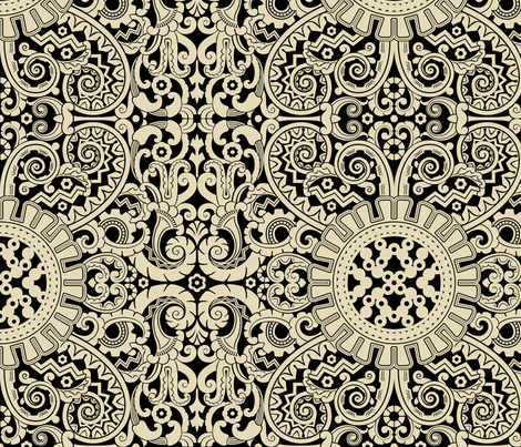 Moderne 1a fabric by muhlenkott on Spoonflower - custom fabric