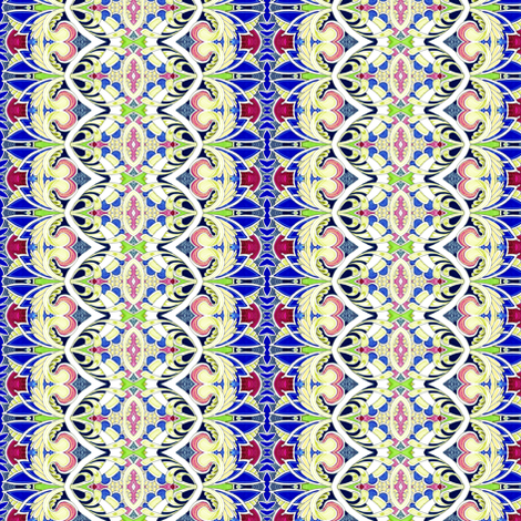 Return to the Deco Decade fabric by edsel2084 on Spoonflower - custom fabric