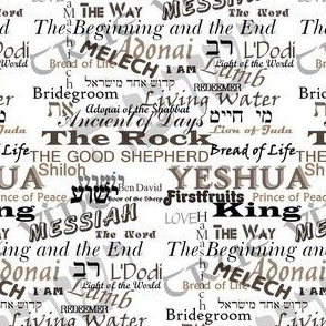 Names of Our Savior