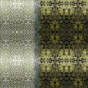 Quilter's gradation gold and black.