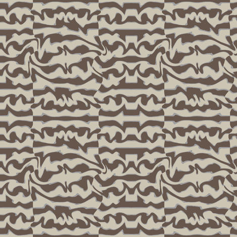 Primitivo (Gray) fabric by david_kent_collections on Spoonflower - custom fabric