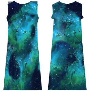 Nebula T-Shirt Dress (WIP)