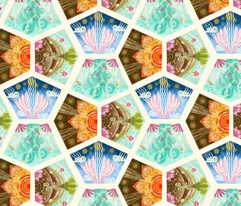 Earth_science fabric by kirpa on Spoonflower - custom fabric