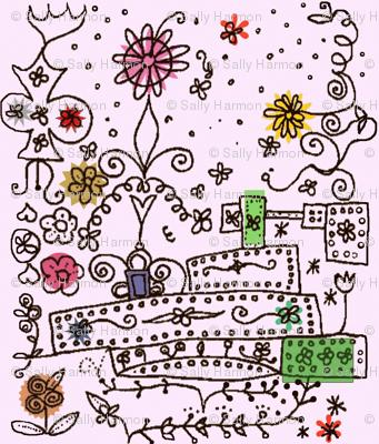 Folk Flower Boxes