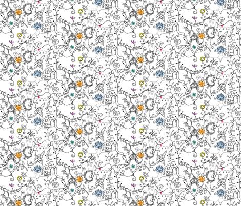 El Rey fabric by boris_thumbkin on Spoonflower - custom fabric