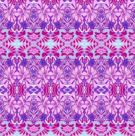 Daisy Wheel in the Sky fabric by edsel2084 on Spoonflower - custom fabric