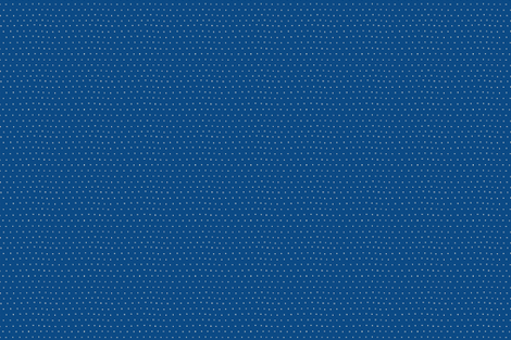 White Polka Dots On blue fabric by chez_beccy on Spoonflower - custom fabric
