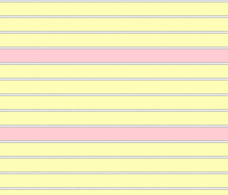 pink yellow stripes fabric by mojiarts on Spoonflower - custom fabric