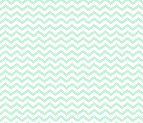 chevron ice mint green fabric by misstiina on Spoonflower - custom fabric