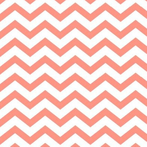 chevron peach