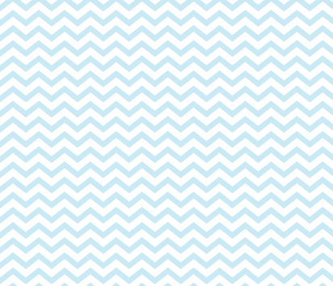 chevron ice blue fabric by misstiina on Spoonflower - custom fabric