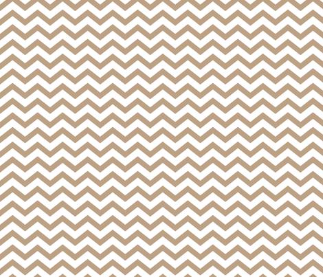 chevron tan fabric by misstiina on Spoonflower - custom fabric