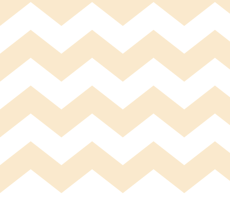 chevron lg ivory fabric by misstiina on Spoonflower - custom fabric