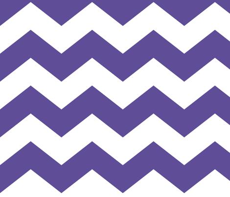 chevron lg purple fabric by misstiina on Spoonflower - custom fabric