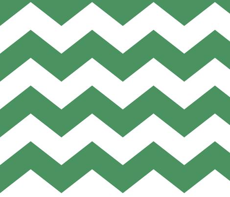 chevron lg kelly green fabric by misstiina on Spoonflower - custom fabric