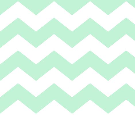 chevron lg ice mint green fabric by misstiina on Spoonflower - custom fabric