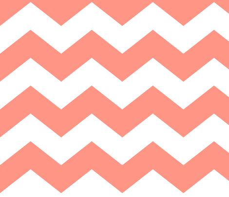 chevron lg peach fabric by misstiina on Spoonflower - custom fabric