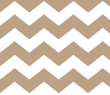 chevron lg tan fabric by misstiina on Spoonflower - custom fabric