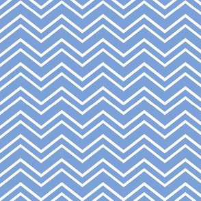 chevron no2 cornflower blue