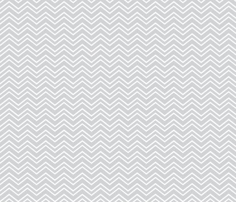 chevron no2 light grey fabric by misstiina on Spoonflower - custom fabric