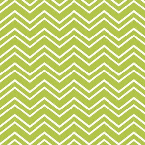 chevron no2 lime green