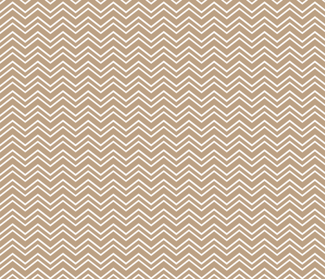 chevron no2 tan fabric by misstiina on Spoonflower - custom fabric