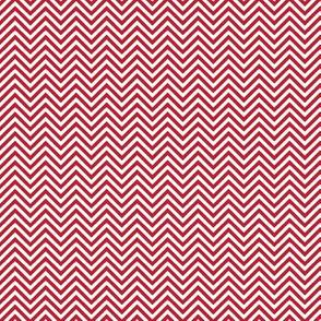chevron pinstripes red