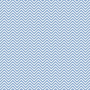 chevron pinstripes cornflower blue