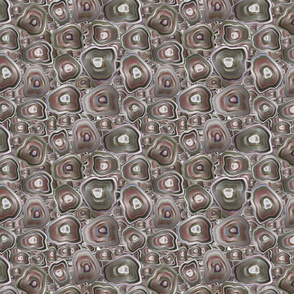 agate mosaic in grey