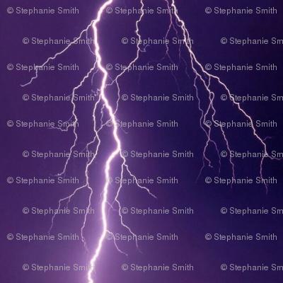 Dark Purple Lightning Pinstripes