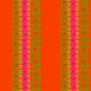 melon daisy stripe