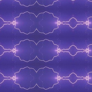 Lightning Arcs on purple