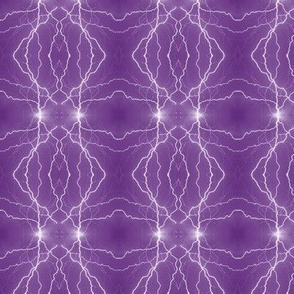 Small Lightning Diamonds in Purple